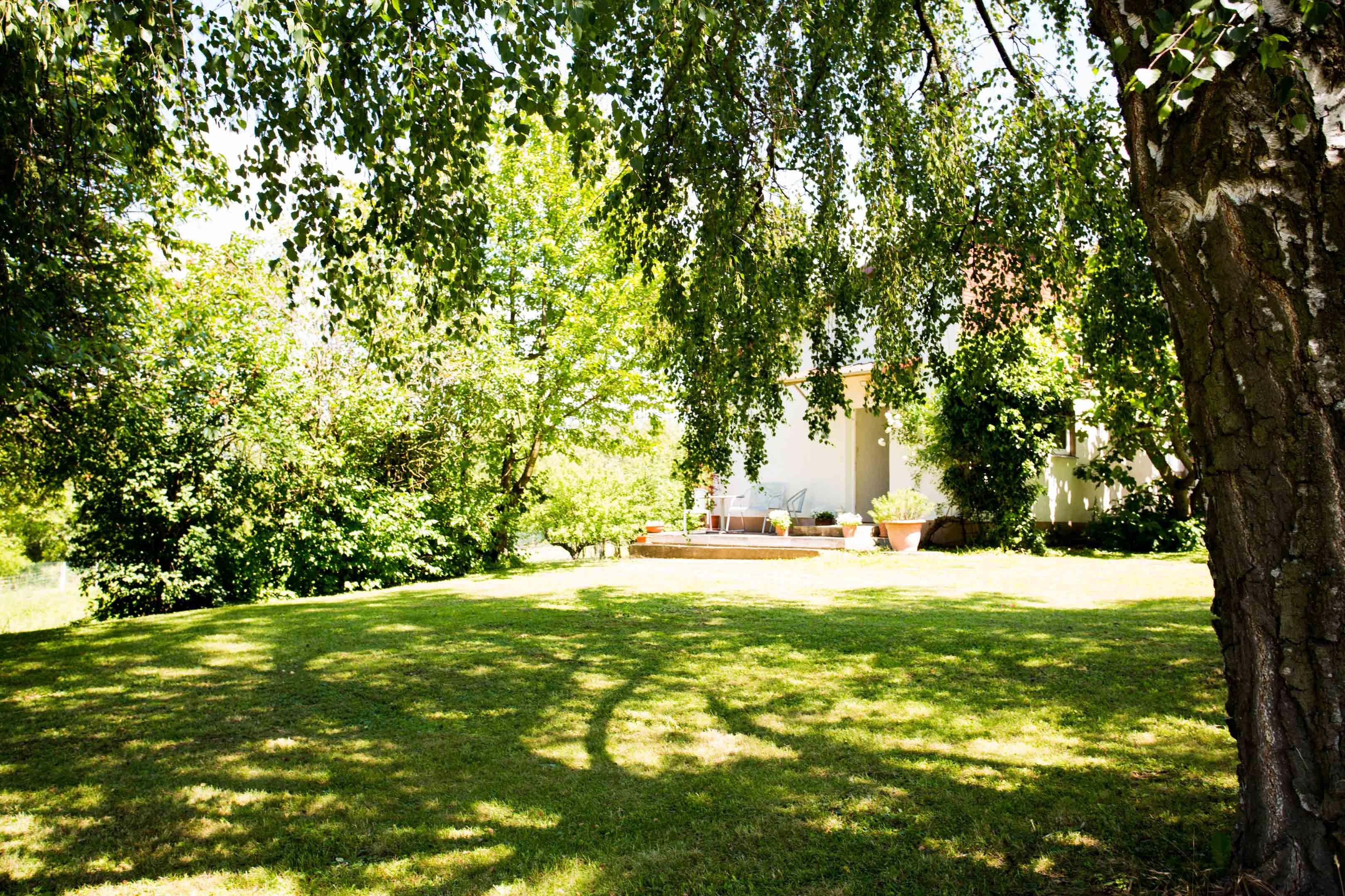 Gartenanlage
